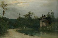 View Haus am See by Carl Blechen on artnet. Browse upcoming and past auction lots by Carl Blechen. A4 Poster, Poster Prints, Carl Blechen, Nostalgia, Vintage Artwork, Sunrise, Castle, Fine Art, Landscape