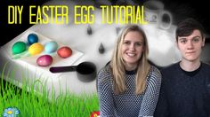 Easy DIY Easter Egg dyeing tutorial! Safe and fun activity for all ages!