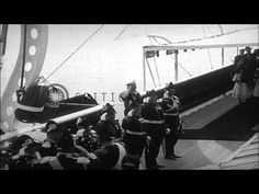 Very High Quality Footage of Kaiser Wilhelm II and Czar Nicholas II meet at a Baltic Seaport. HD Stock Footage