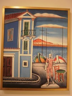 Masters, Greek, Paintings, Artists, Contemporary, Landscape, Google Search, City, House