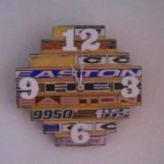 Hockey stick clock