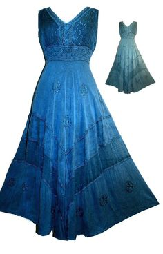 Bohemian Dress   Love this color!