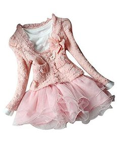 GENERIC 2pcs Kids Baby Girls Cardigan Clothes Dress Outfit, http://www.amazon.com/dp/B00REMOJ7W/ref=cm_sw_r_pi_awdl_Fwg8ub0R3EK12