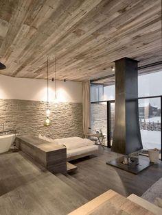 aranżacja wnętrza - dekoracja - dekoracja domu - kominek - zdjęcia wnętrz