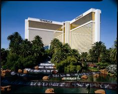 Mirage, las vegas  It was sooooo beautiful when it was brand new, white tigers, tiger park out back, dolphin pools, the inside was like walking through a huge tropical rain forrest...we treasure the memories of both our stays here when it was in it's glory!