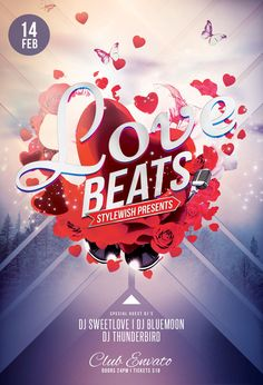 Love Beats Flyer. Jazz ArtGraphic Design InspirationDaily ...