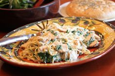 Lisa's Dinnertime Dish for Great Recipes! – Part IV Budget Meals: Grilled Chicken Florentine Pasta
