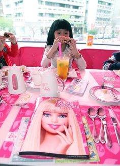 Barbie Cafe Opens In Taipei