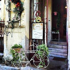 Shop display in Cluj, Romania.