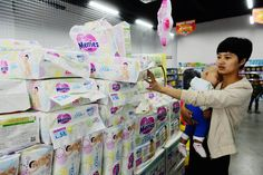 Procter & Gamble's Pampers diapers have had trouble competing in China against Japanese brand Merries.