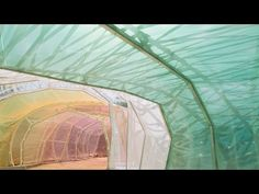 ▶ Exclusive video preview of SelgasCano's 2015 Serpentine Gallery Pavilion - YouTube