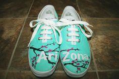 Arizona Vans...Oh my gosh I want these! <3 Want to see O2L's faces if I ever meet them