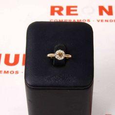 #Solitario de #oro y diamante E266258A de segunda mano | Tienda de Segunda Mano en Barcelona Re-Nuevo #segundamano