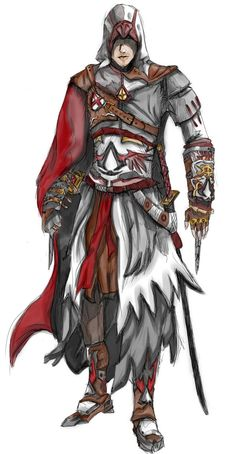 DeviantArt: More Like assassin's creed by ivanshark Assassins Creed Art, Geek Stuff, Fan Art, Deviantart, Assassin's Creed, Knights, Naruto, Gaming, Characters