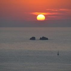 Sunset at Parikia, Paros