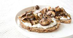 Mushroom & Ricotta Toast.