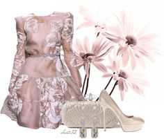 """""""#1691"""" by christa72 on Polyvore  I want to wear this for the cherry blossom parade"""