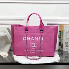 125 Best Chanel Deuville Totes images   Chanel handbags, Bags, Taschen d8690f0a0d