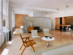 minimalist modern loft