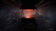 The Forge, Dominik Hildner on ArtStation at https://www.artstation.com/artwork/the-blacksmith-202c632e-52ec-444f-b8d3-0185c600a0e6
