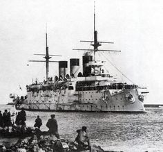 Imperial Russian Ironclad warship Oslyabya.. December 27 1903. source