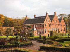 Europe, Dutch, Scotland, Beautiful Places, England, Mansions, Landscape, Country, House Styles