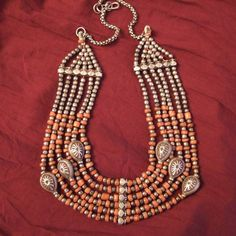 India | An old silver and coral necklace from Himachal Pradesh | © Micheal Halter.