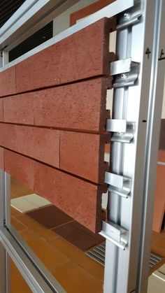 A Revolution In Building Pretty Interesting Wall & Facade Solution - Decor Units Cladding Design, Interior Cladding, Brick Cladding, House Cladding, Cladding Systems, Brick Facade, Wall Cladding, Facade Design, Brick Architecture