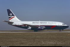 British Airways B737-236(Adv) G-BGDG 21796 Paris Roissy - Charles de Gaulle - LFPG March 12, 1993 Remi Dallot