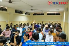 WIZTOONZ College of Media & Design organized Induction Program for Parents & New Joiners on 5th June 2014.  Program included an overview of the Academic curriculum, distribution of Academic Program structure, covered related student affairs with rules and regulations.