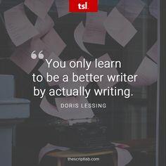 Quotable – Doris Lessing – Writers Write