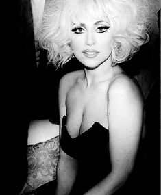 Lady Gaga makeup by billy b