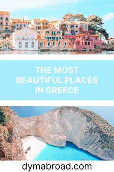 Want to visit the most beautiful places in Greece? Wonderful beaches, cute villages, history and architecture, Greece has it all! #greece #beautifulplaces #prettyplaces #europe #travel Greece Itinerary, Greece Travel, Cool Places To Visit, Great Places, Most Beautiful, Beautiful Places, Places In Greece, Greek House, Bucket List Destinations