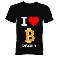 i love bitcoin Product Description, My Love, T Shirt, Tops, Women, Fashion, Supreme T Shirt, Moda, Tee Shirt