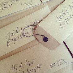 Envelopes   via RedBird Paperie