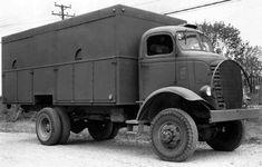GMC Model AFKX-804, 4-ton, 4x4 Radio Van.