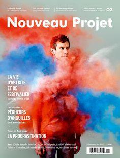 Magazine Covers / Nouveau Projet (Montréal, QC, Canada)