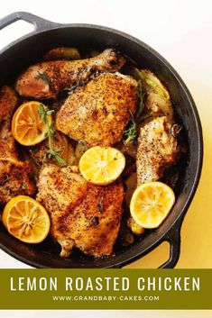 15 Romantic Dinner Recipes Lemon Roasted Chicken Comfort and love are the name of the game when it comes to Lemon Roasted Chicken making it a perfect romantic date night dinner recipe Informations About 15 Romantic Dinner Recipes Pin You can easily use my Best Dutch Oven, Dutch Oven Cooking, Dutch Oven Recipes, Dutch Oven Chicken Thighs, Lemon Roasted Chicken, Roasted Chicken And Potatoes, Lemon Potatoes, Rosemary Chicken, Fresh Chicken