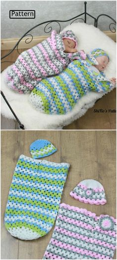 Crochet Baby Cocoons All The Cutest Ideas You'll Love Sie Baby Kokon Crochet Baby Cocoons All The Cutest Ideas You'll Love Crochet Baby Cocoon Pattern, Love Crochet, Baby Blanket Crochet, Crochet For Kids, Crochet Baby Beanie, Crochet Mermaid, Diy Crochet, Crochet Ideas, Crochet Baby Clothes