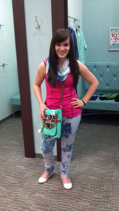 Jackie rocking the printed pants! lets hear what you think!
