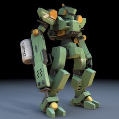 Vanishing Point: Marketplace: Product Specifications: Sentinel Robot Mech (for Poser)