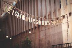 Johannesburg Südafrika - Eingang Neighbourgoods Market Braamfontein