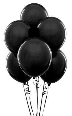 Black   黒   Kuro   Nero   Noir   Preto   Ebony   Sable   Onyx   Charcoal   Obsidian   Jet   Raven   Color   Texture   Pattern   Styling   Balloons   Curl   Ribbon   Cluster