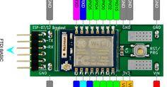 BAdmin: Setting I2C on ESP8266MOD with ESP 07/12 Breakout