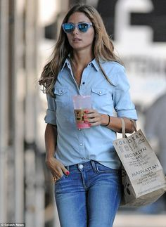 So that's part of how she stays thin... The former reality TV star was seen drinking a juice from Foragers market