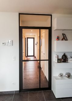 Steel look binnendeur met bovenlicht van ANYWAYdoors