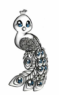 i wouldnt be able to do all of the little details but in cute peacock drawing collection - ClipartXtras Pencil Art, Pencil Drawings, Peacock Tattoo, Drawing Sketches, Drawing Drawing, Drawing Ideas, Drawing Tips, Ball Drawing, Easy Drawings