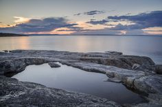 coast in the north of sweden