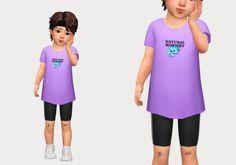 long tee & biker shorts   casteru on Patreon The Sims, Sims Cc, Maxis, Long Tee, Sims 4 Custom Content, Swatch, Biker, Shorts, Tees