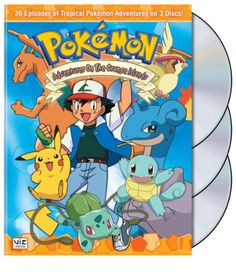 Pokemon - Adventures on the Orange Islands Box Set After a stop in Pallet Town, Ash, Misty and Brock set out to find a rare and mysterious Pokéball for Harry Potter Box Set, Harry Potter Dvd, New Trainers, Hallmark Holidays, New Pokemon, Babies First Christmas, New Friends, Favorite Tv Shows, Movies And Tv Shows